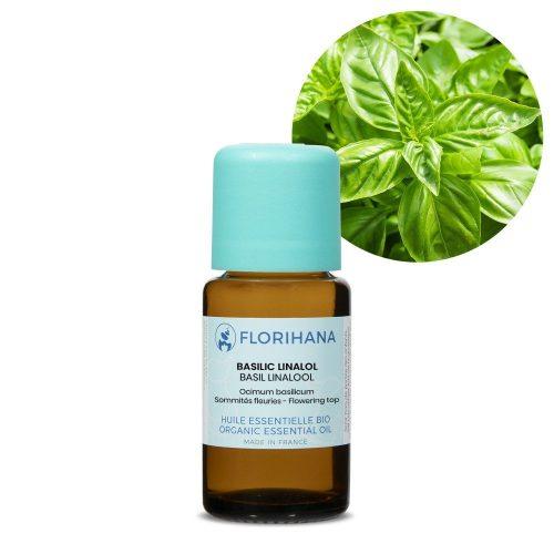 bazalka linalol esencialny olej bio florihana