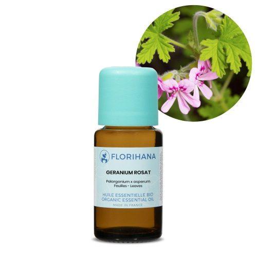 geranium rosat esencialny olej bio florihana