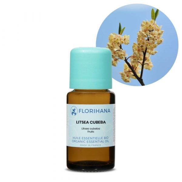 litsea cubeba esencialny olej bio florihana
