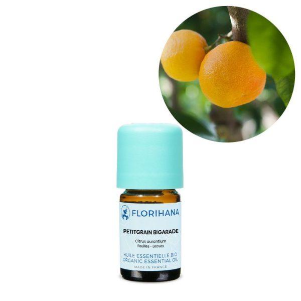 Petitgrain esencialny olej bio florihana