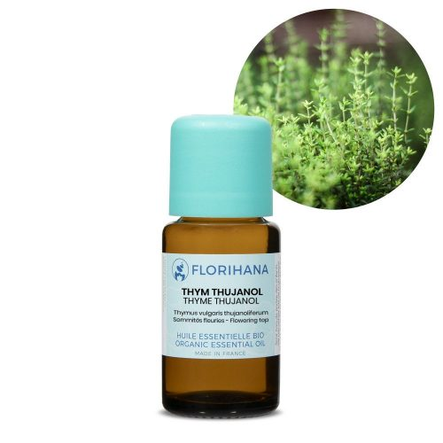tymian thujanol esencialny olej bio florihana