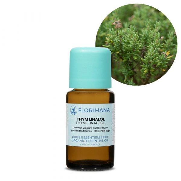 tymian linalol esencialny olej bio florihana