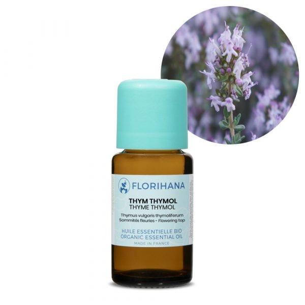 tymian thymol esencialny olej bio florihana