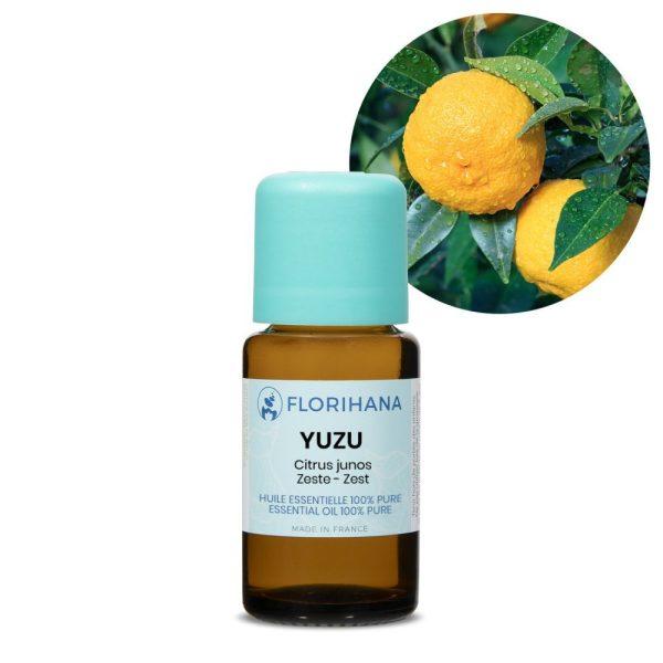 yuzu esencialny olej bio florihana